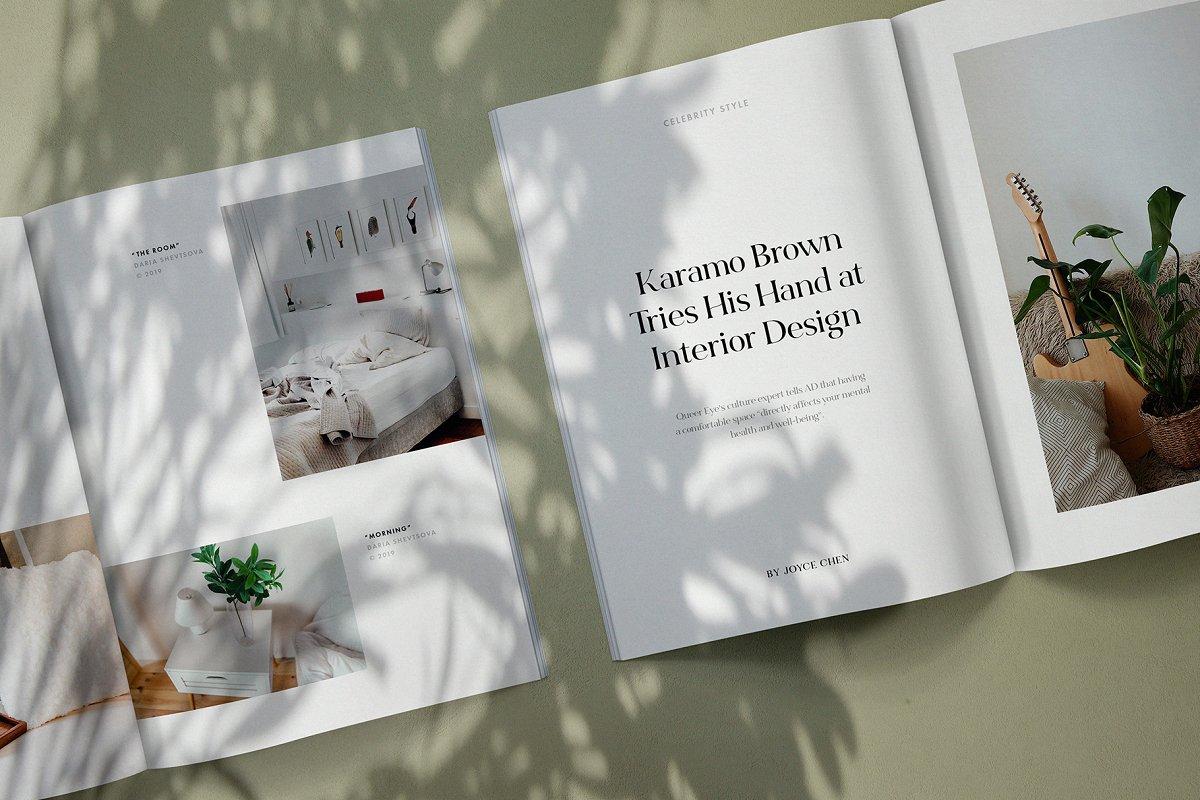 画册杂志设计效果图展示样机PSD模板 Suno Magazine Mockup Kit插图(5)