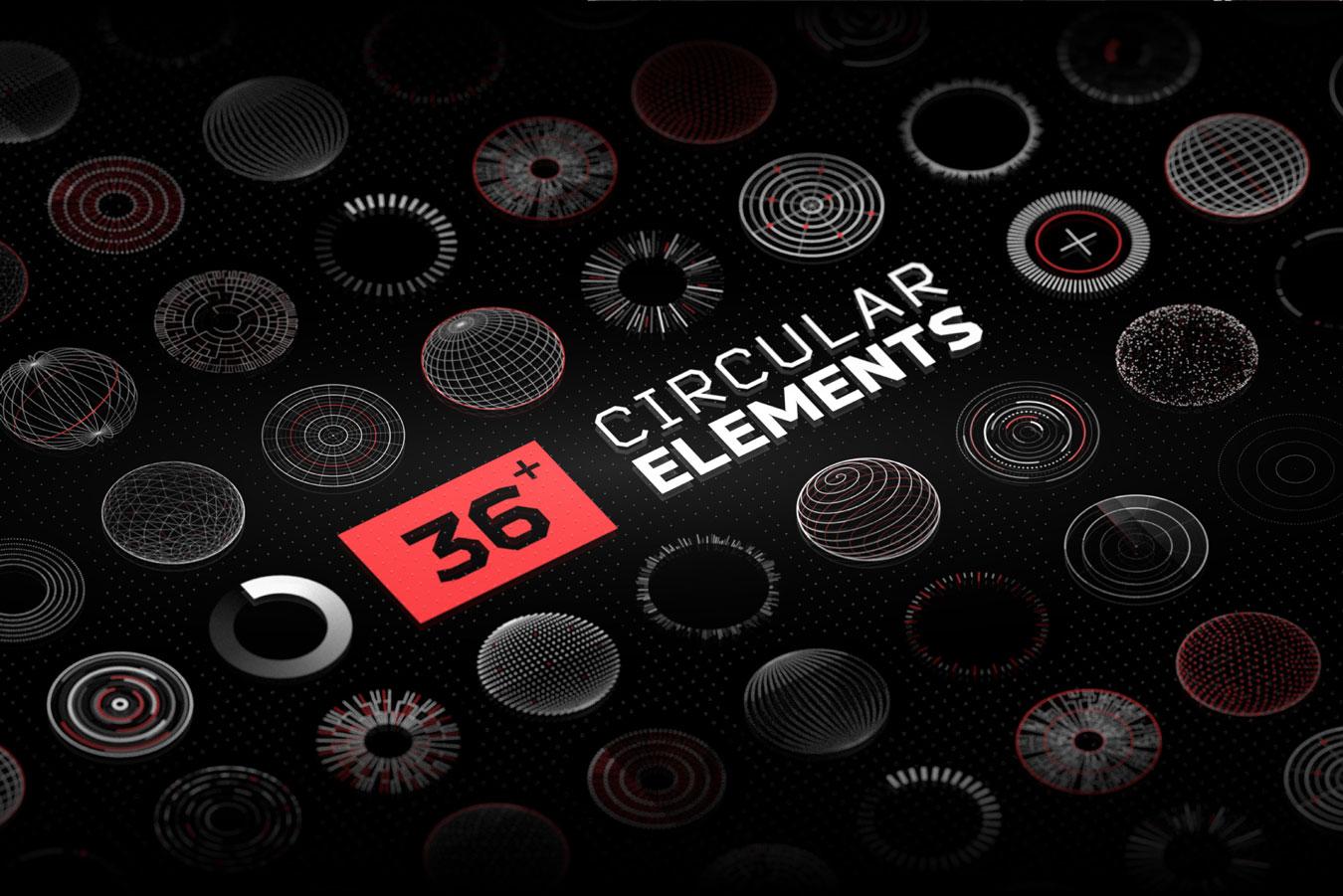 超炫酷科幻航空航天数据信息HUD仪表盘UI设计模板套件 Futuristic UI Kit • 200+ Design Elements插图(13)
