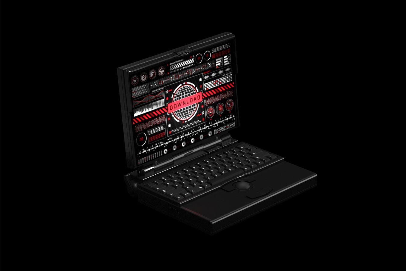 超炫酷科幻航空航天数据信息HUD仪表盘UI设计模板套件 Futuristic UI Kit • 200+ Design Elements插图(16)