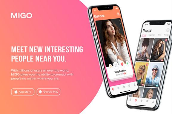高质量社交约会iOS应用UI界面设计套件 MIGO Dating Mobile UI Kit