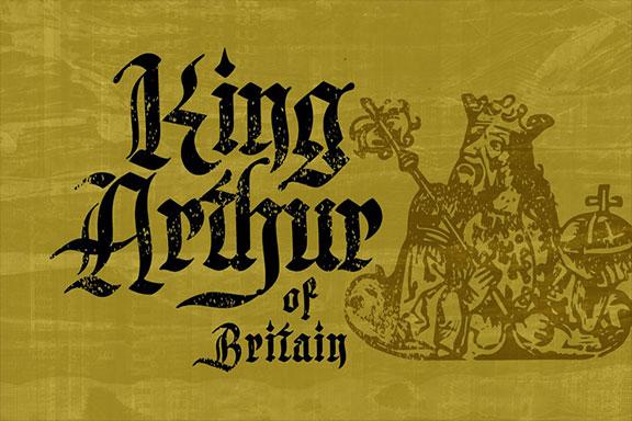 手绘中世纪哥特式衬线英文字体 Inked Bones