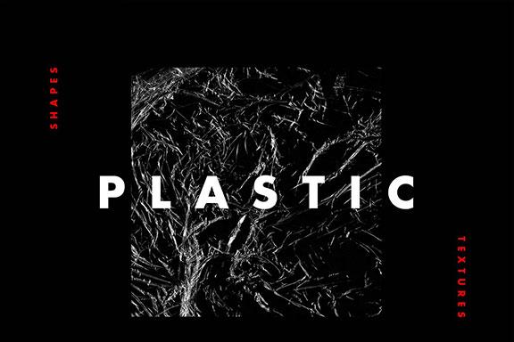 塑料质感保鲜膜背景纹理素材 Plastic Texture Wrapping Set