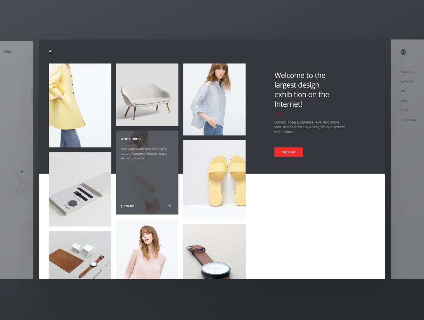 精美在线购物电子商城网站UI设计模板 Avia UI Kit: Shopping插图(4)
