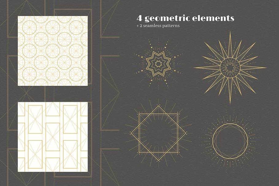 圣诞节主题手绘水彩植物装饰元素剪贴画合集 Classic Christmas. Clipart set插图(9)