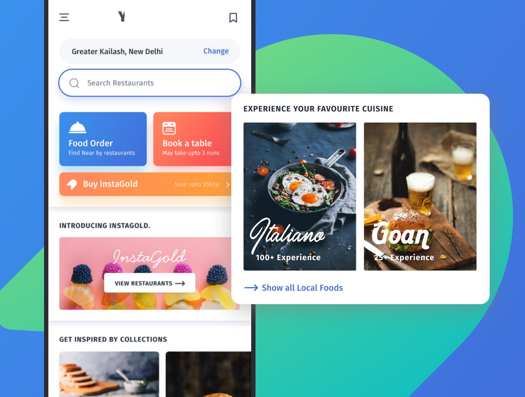 咖啡店酒店餐馆食品外卖APP应用程序UI界面设计套件 YumFood – Mobile App UI kit插图(1)