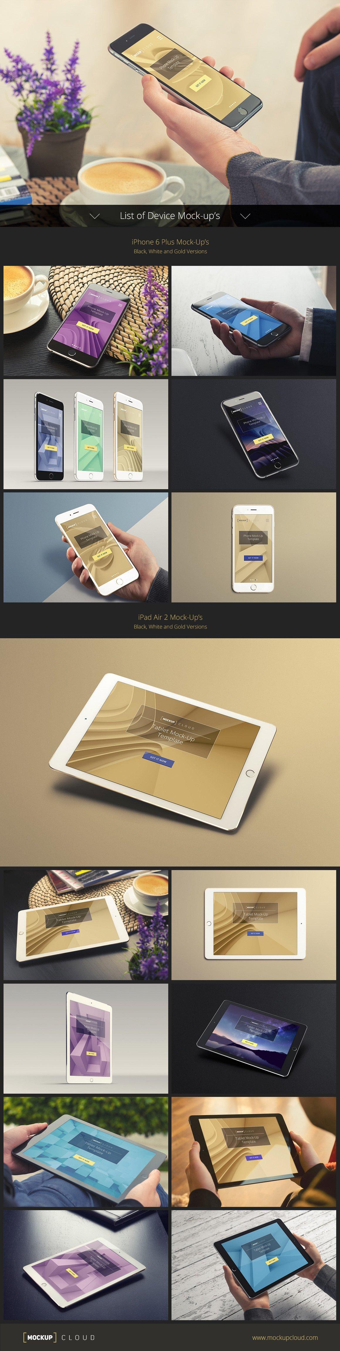 [12.72 GB] 超巨量品牌产品设计展示效果图样机模板集合 Branding Mockup's Bundle插图(5)