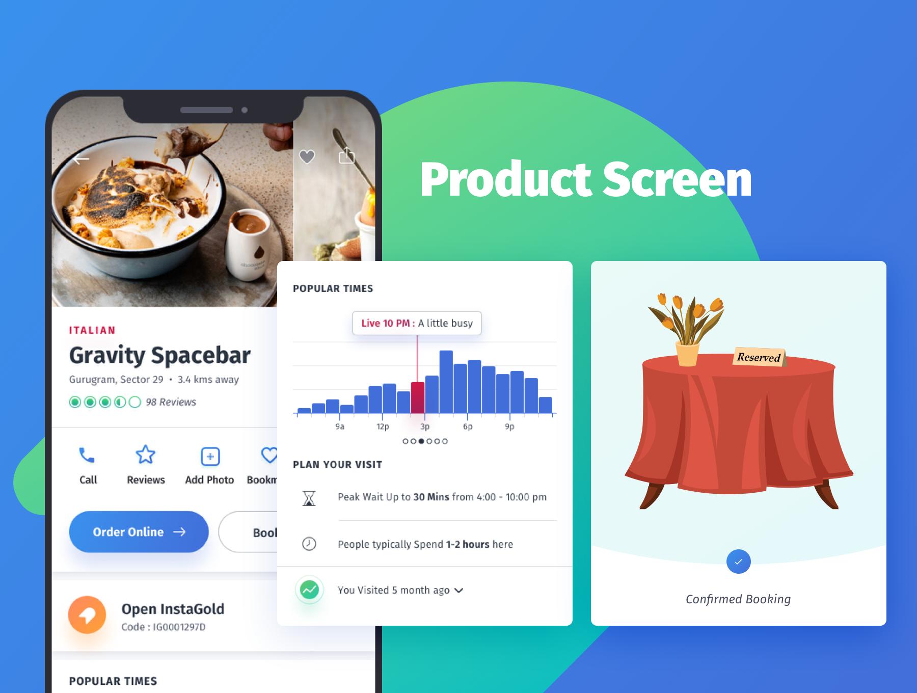 咖啡店酒店餐馆食品外卖APP应用程序UI界面设计套件 YumFood – Mobile App UI kit插图(3)