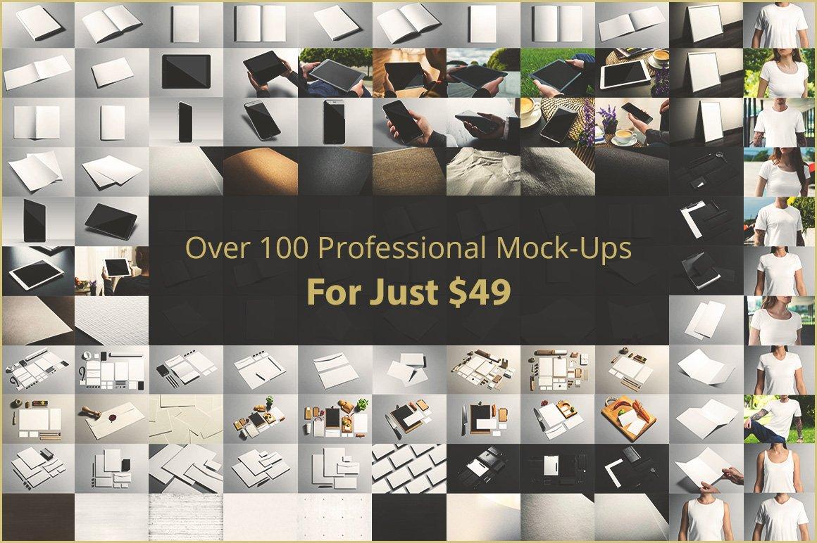 [12.72 GB] 超巨量品牌产品设计展示效果图样机模板集合 Branding Mockup's Bundle插图