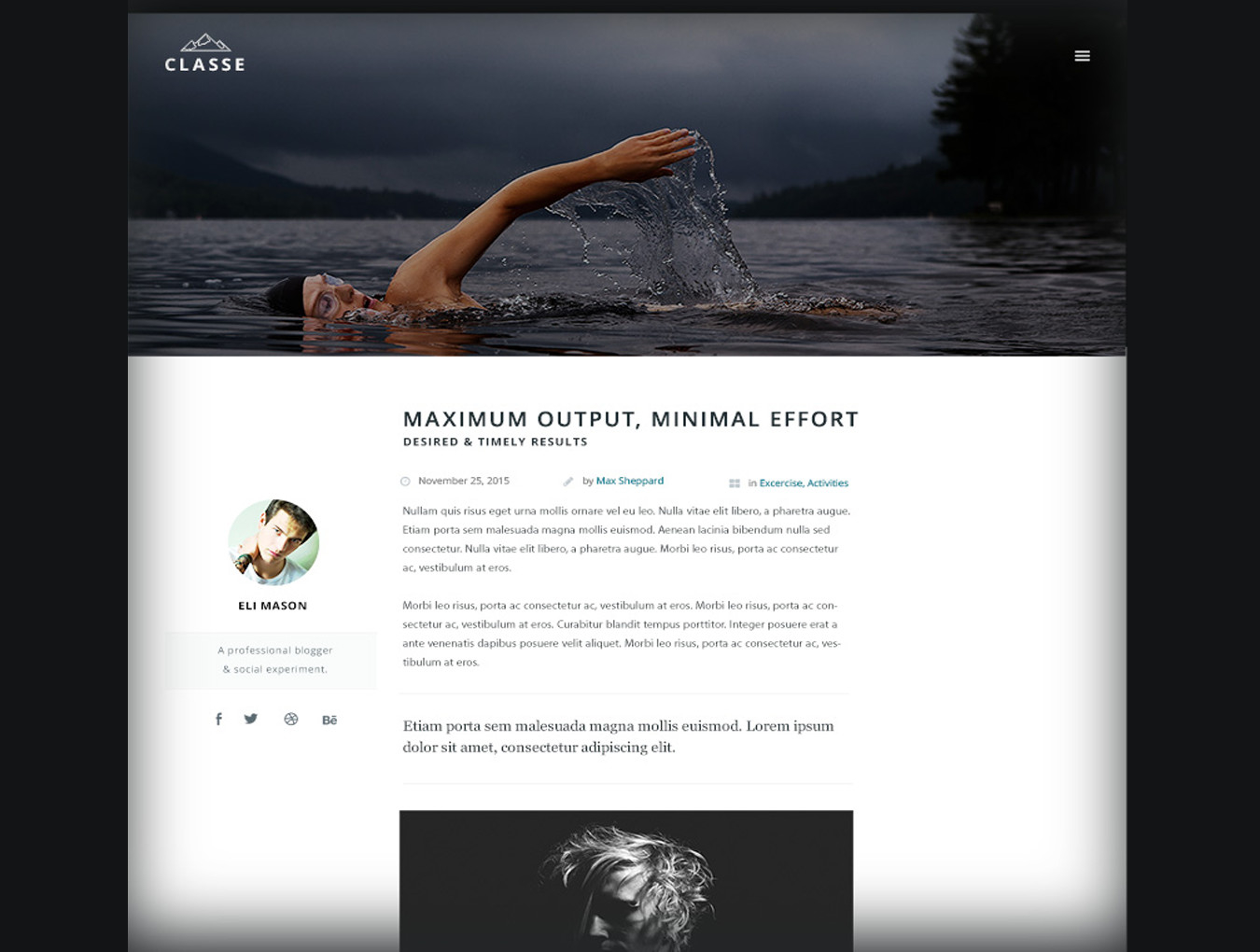 多功能商城博客WEB网站UI界面设计套件 Classe UI Kit插图(2)