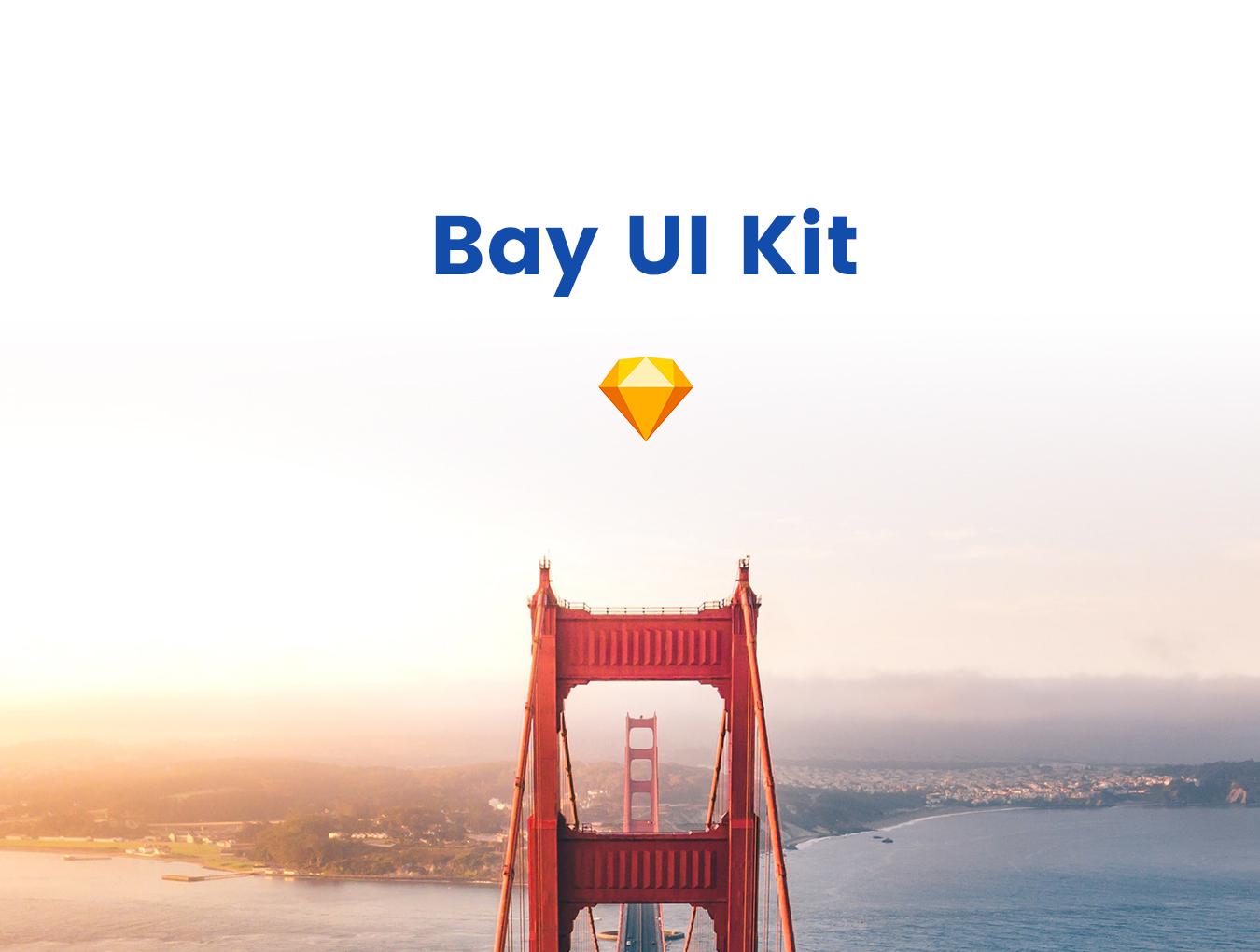 现代简约摄影设计工作室WEB网站UI界面设计模板 Bay UI Kit插图
