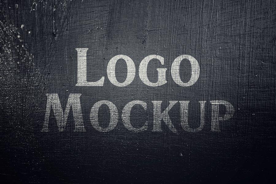 逼真LOGO设计效果图样机模板 Grange Logo Mockup插图(2)