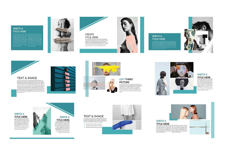 企业业务项目策划书设计PPT幻灯片模板 Bussiness Powerpoint Template插图(3)
