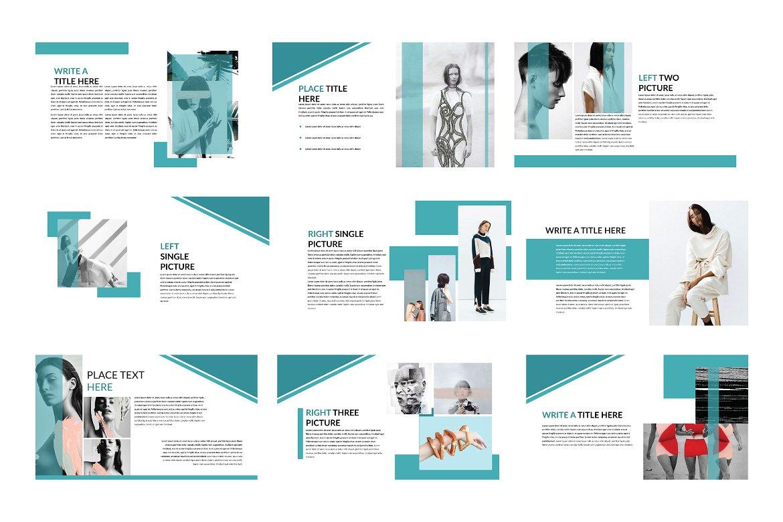 企业业务项目策划书设计PPT幻灯片模板 Bussiness Powerpoint Template插图(4)