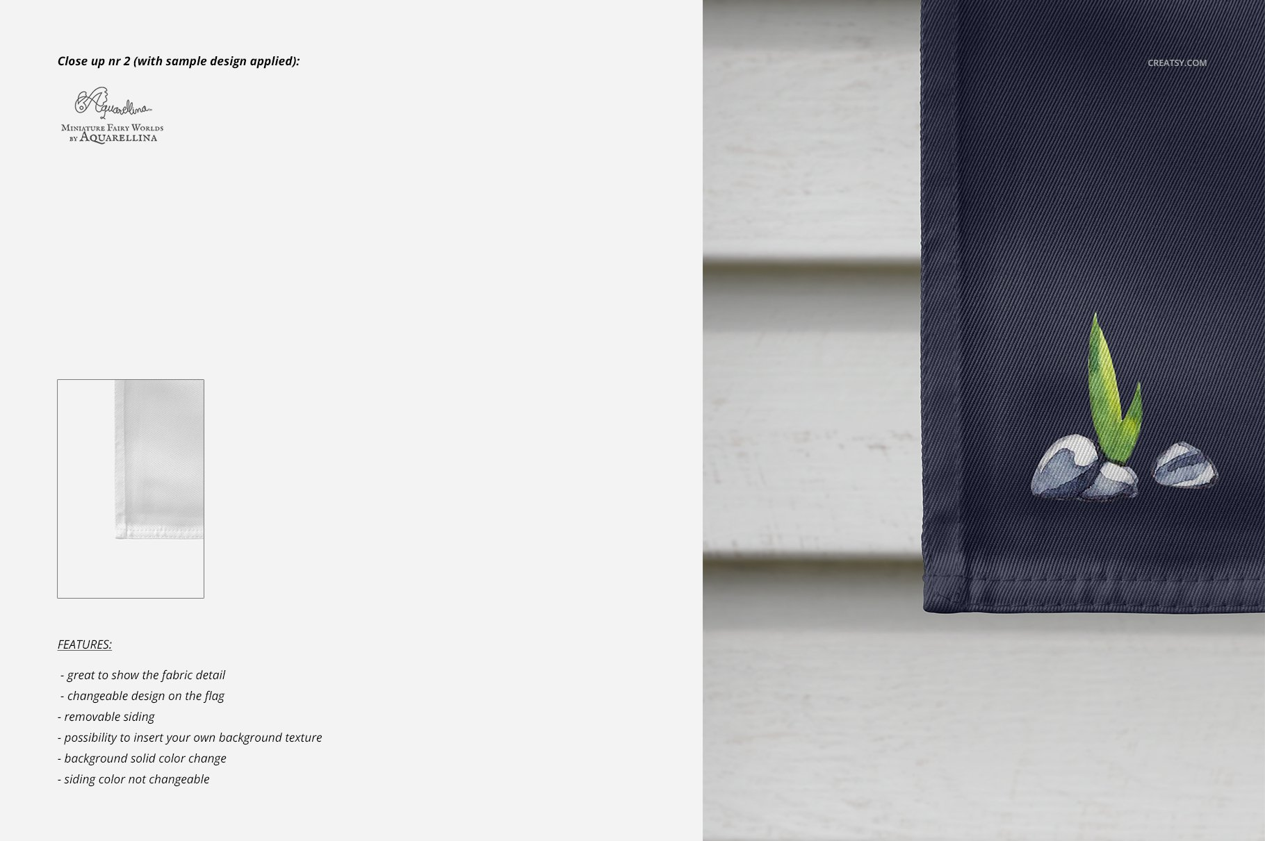 房屋悬挂旗帜设计展示图样机模板合集 Large House Flag Mockup Set插图(6)
