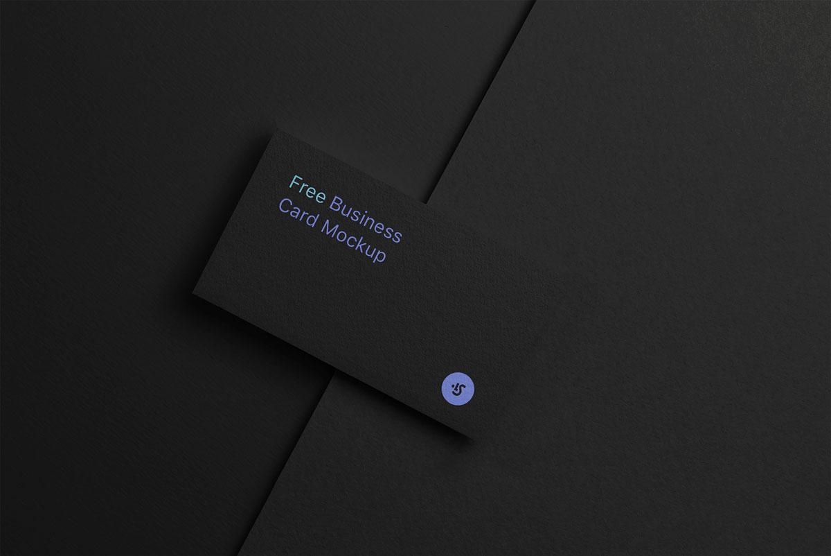 企业品牌设计商务名片展示样机模板 Business Card Mockup插图(2)