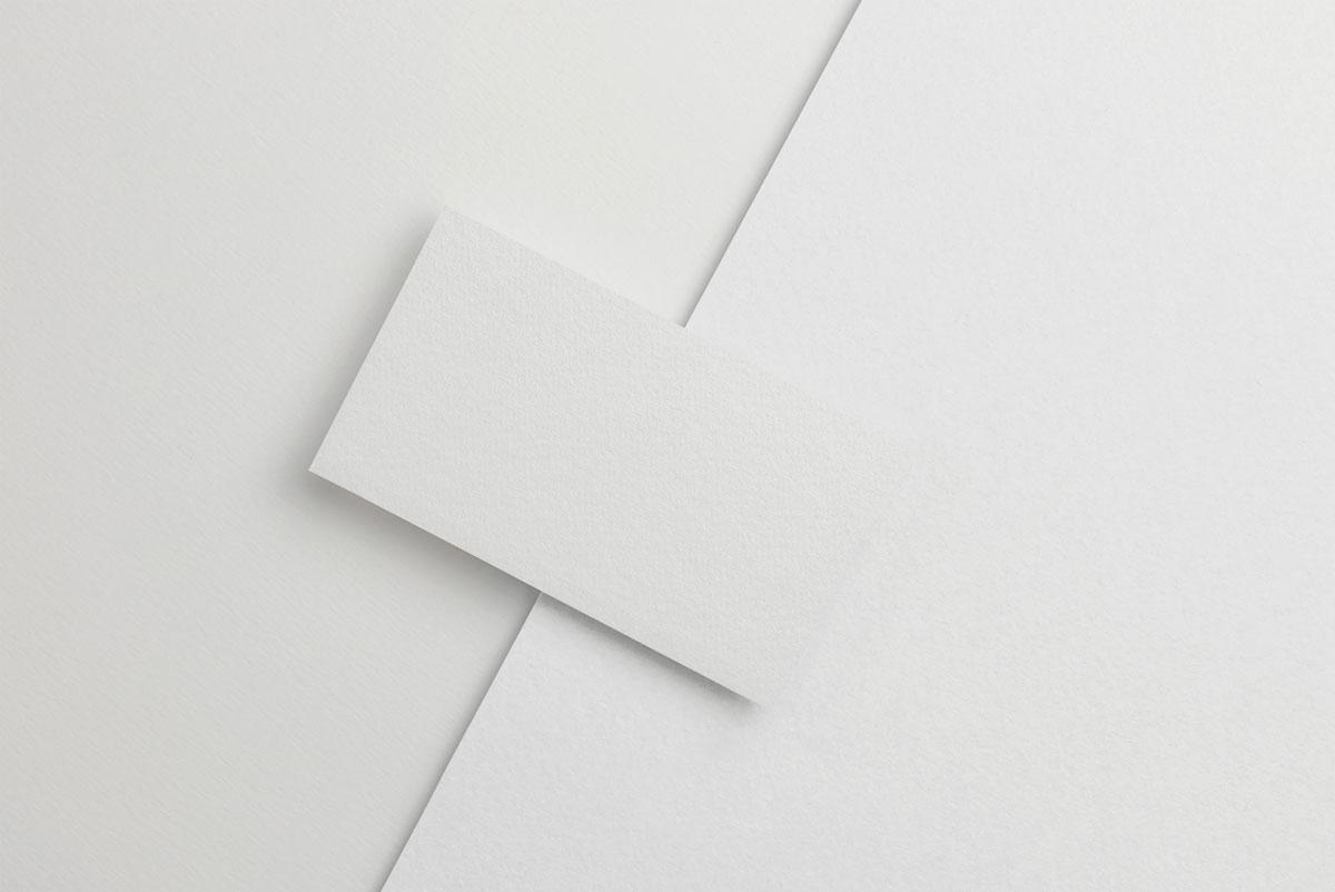 企业品牌设计商务名片展示样机模板 Business Card Mockup插图(4)