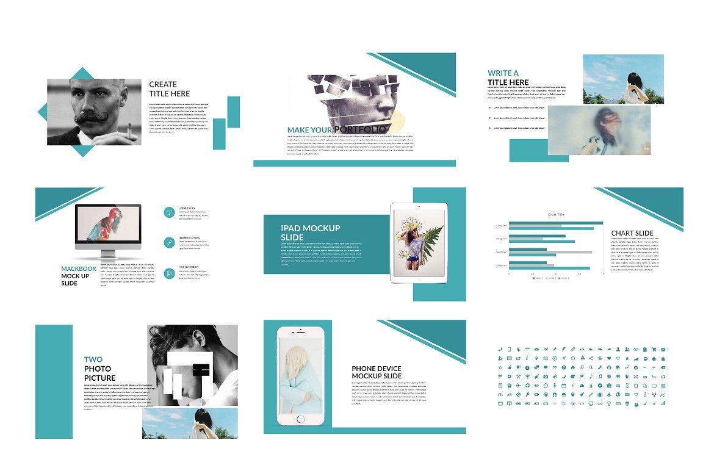 企业业务项目策划书设计PPT幻灯片模板 Bussiness Powerpoint Template插图(5)