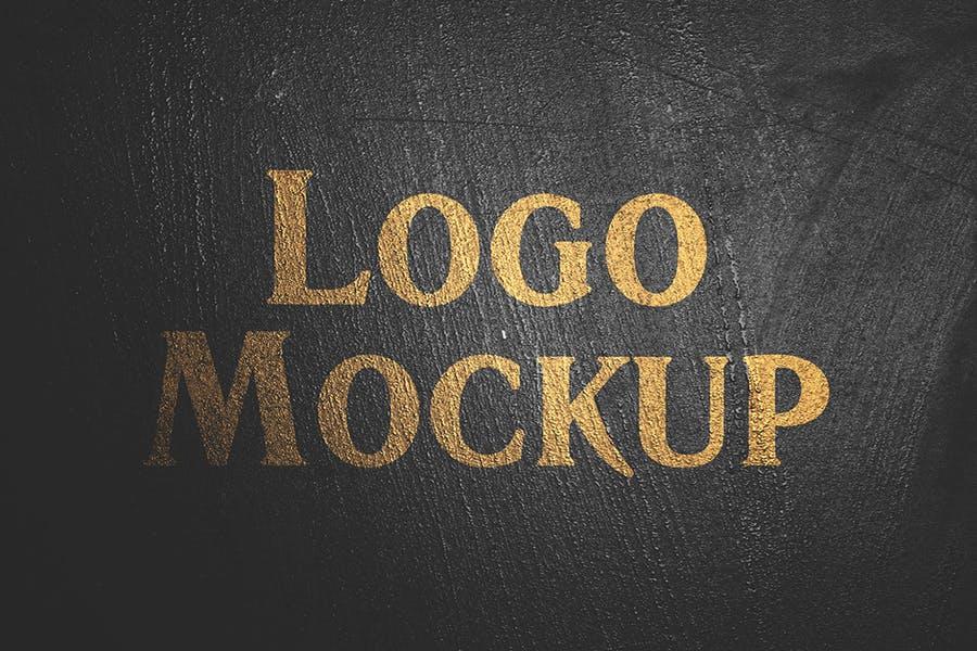 逼真LOGO设计效果图样机模板 Grange Logo Mockup插图(5)