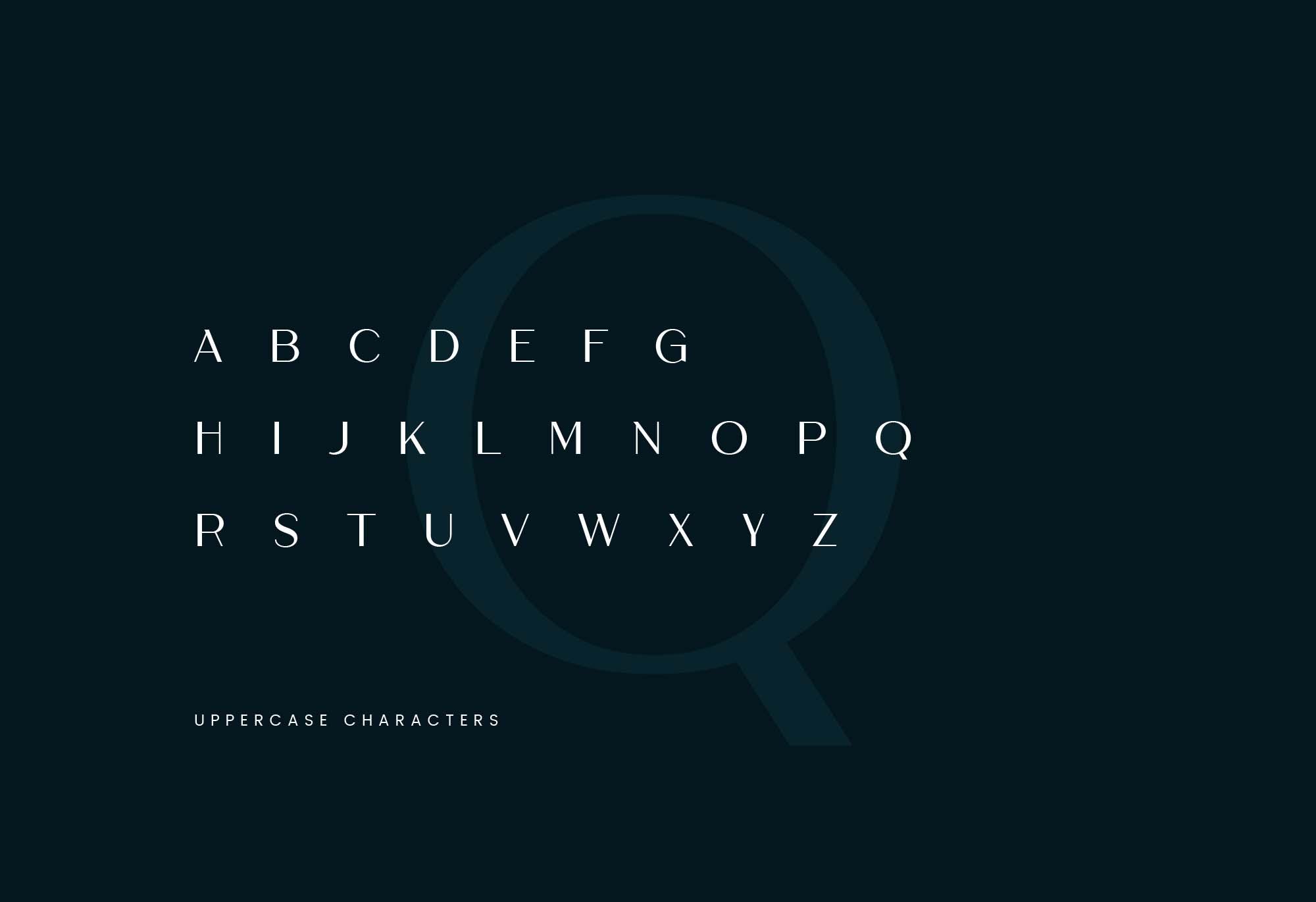 经典优雅无衬线大写英文字体 Cremona Sans Typeface插图(3)