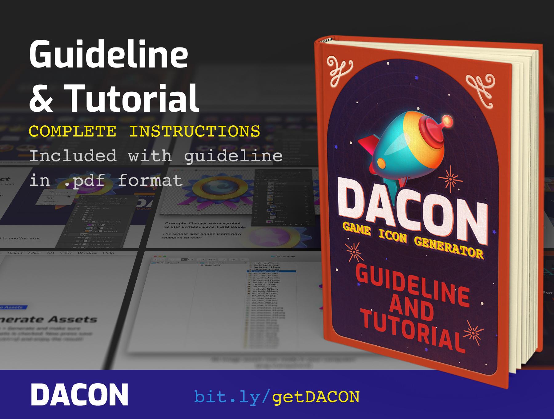 高品质多彩游戏3D图标PS设计素材 DACON – Game Icon Generator插图(4)