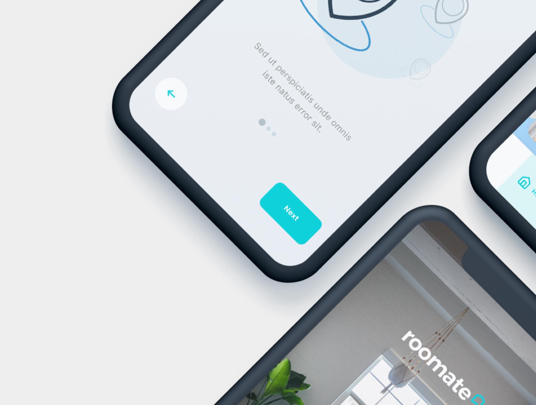 酒店预定APP应用程序UI界面设计套件 Roomate iOS UI Kit插图(6)