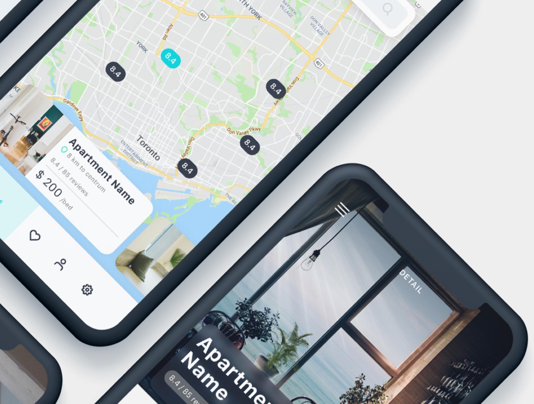酒店预定APP应用程序UI界面设计套件 Roomate iOS UI Kit插图(7)