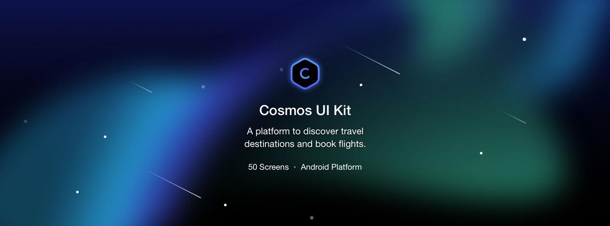 航班机票预订APP应用程序UI界面设计套件 Cosmos UI Kit插图