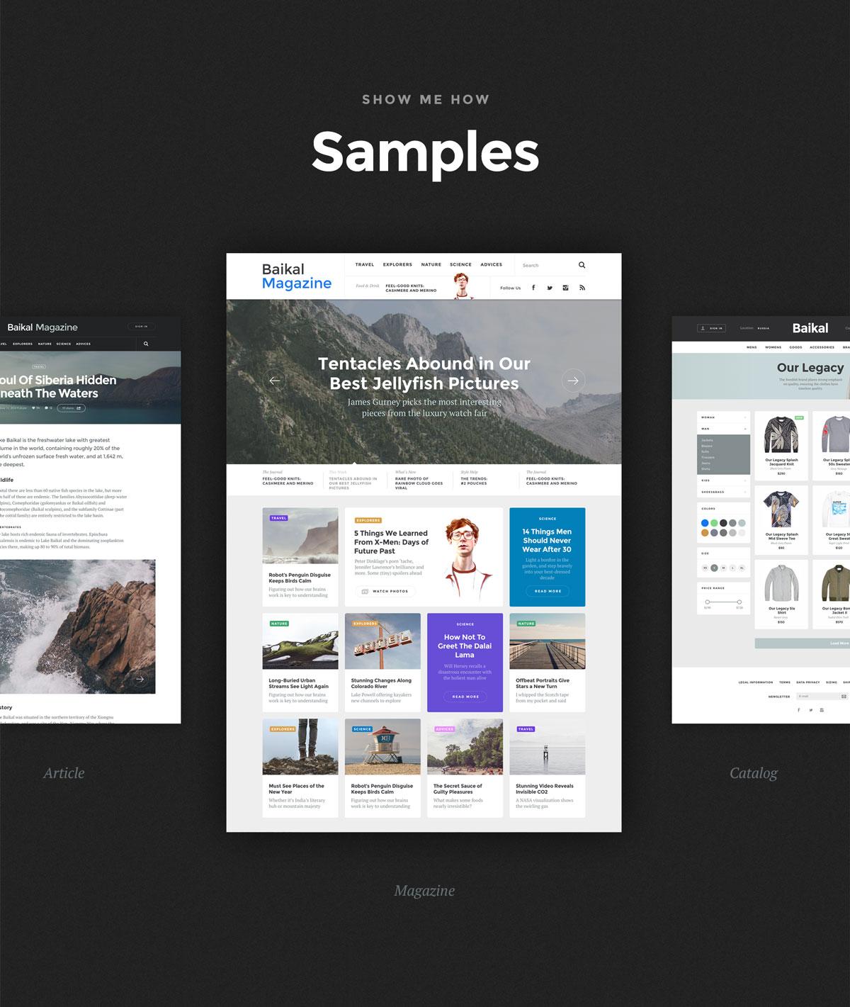 多功能社交商城视频APP应用程序UI界面设计套件 Baikal UI Kit插图(10)