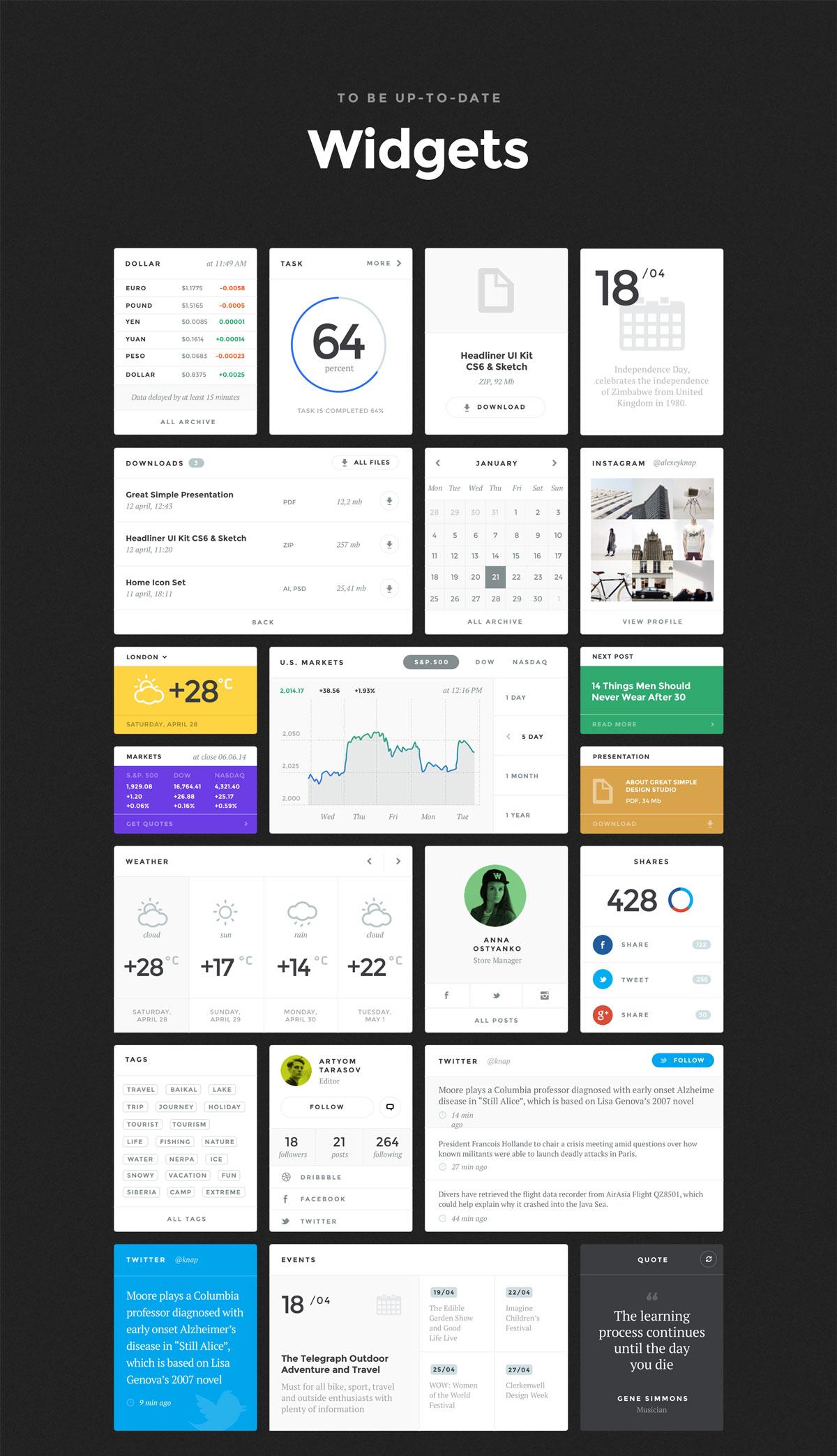多功能社交商城视频APP应用程序UI界面设计套件 Baikal UI Kit插图(2)