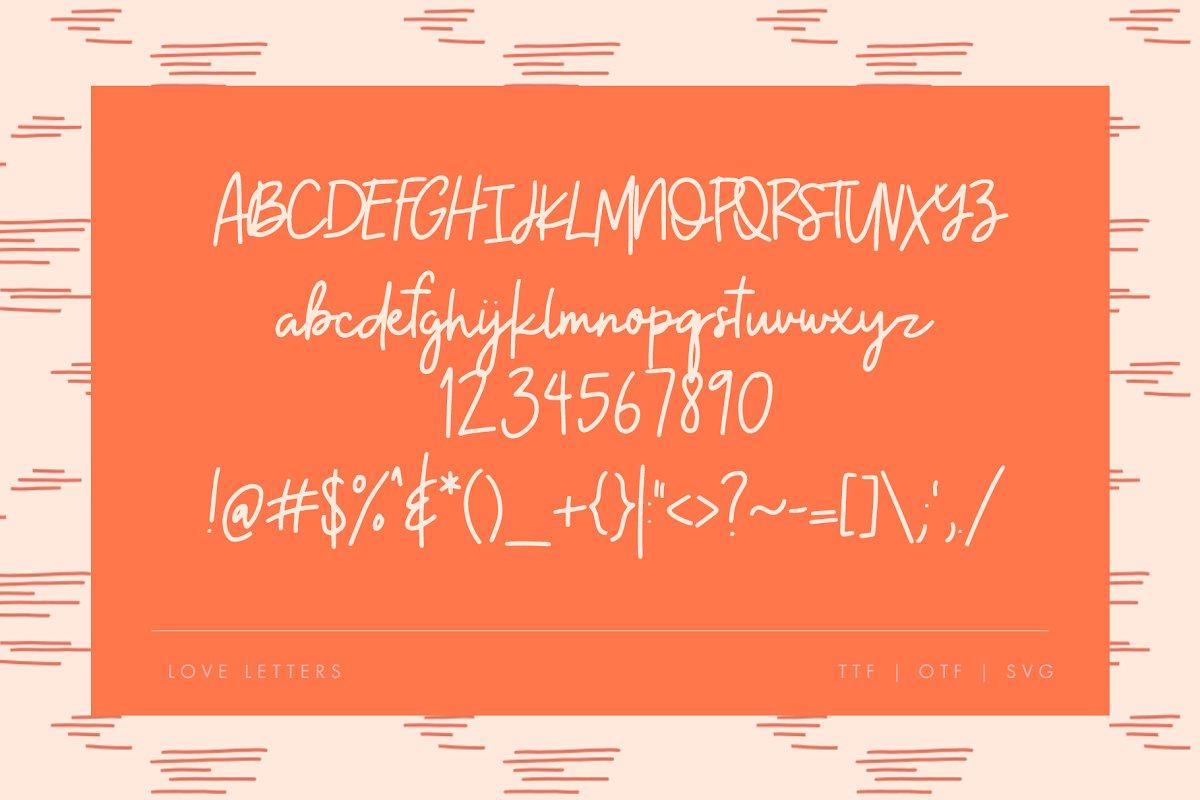 现代情人节贺卡卡片手绘元素设计素材包 Modern Valentine – Design Toolkit插图(6)