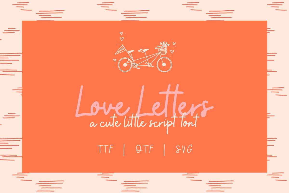 现代情人节贺卡卡片手绘元素设计素材包 Modern Valentine – Design Toolkit插图(7)
