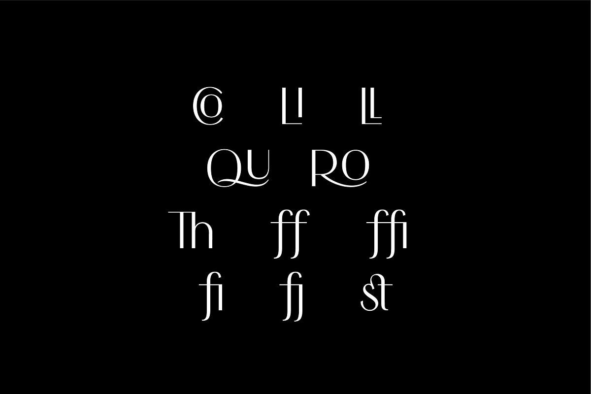 时尚优雅无衬线英文字体下载 Simplicite' – Elegant Sans Serif插图(12)