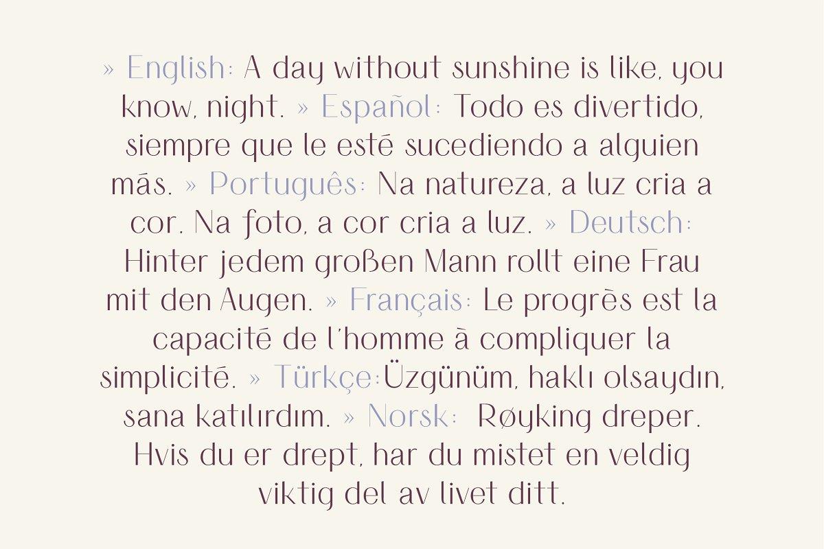 时尚优雅无衬线英文字体下载 Simplicite' – Elegant Sans Serif插图(14)