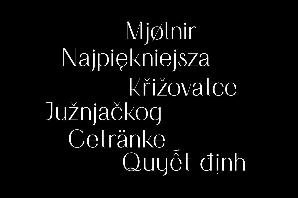 时尚优雅无衬线英文字体下载 Simplicite' – Elegant Sans Serif插图(26)