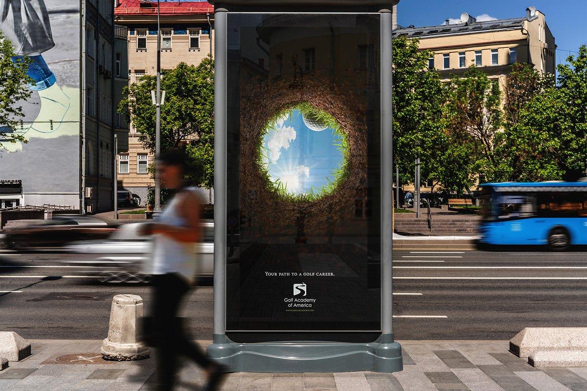 城市户外广告牌海报设计效果图样机模板素材 Billboards Urban Mockup插图(6)