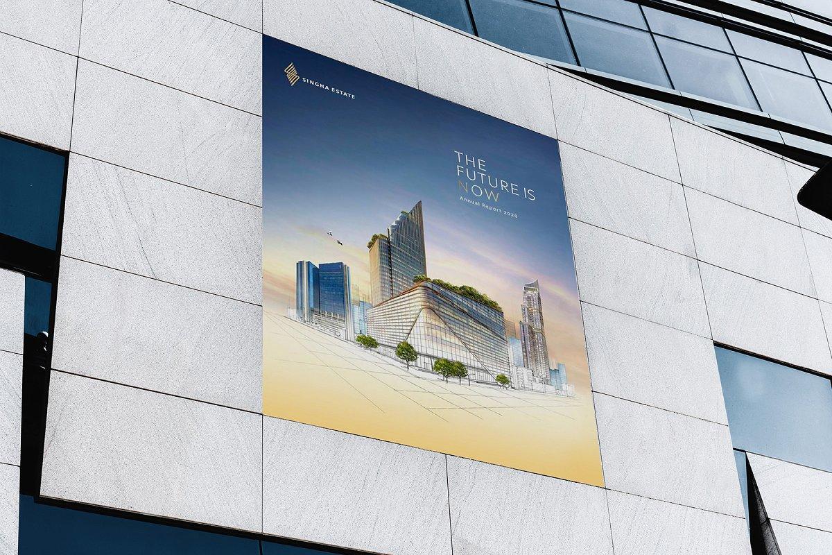 城市户外广告牌海报设计效果图样机模板素材 Billboards Urban Mockup插图(7)