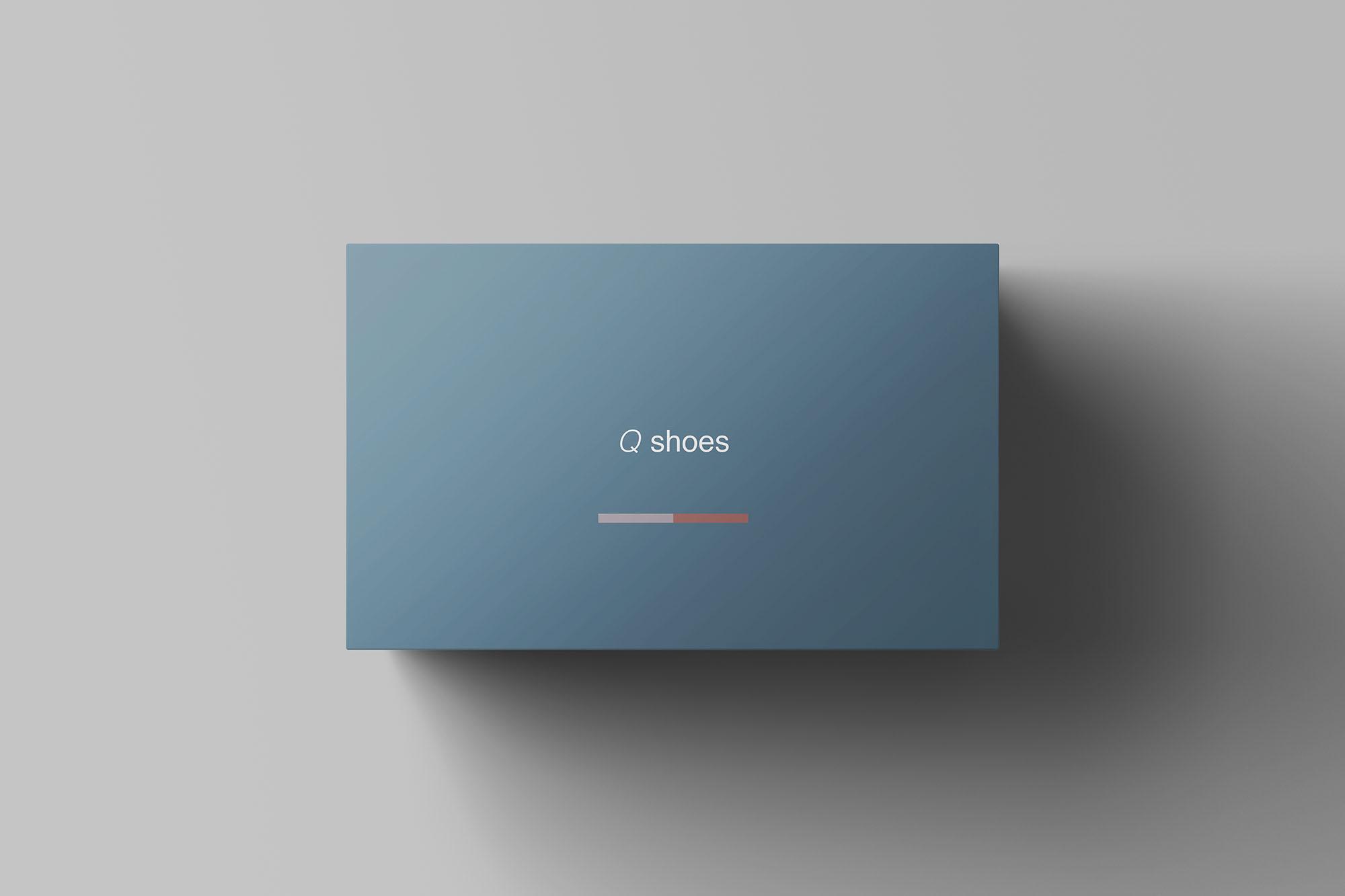 7个高品质纸质鞋盒外观设计预览图样机模板 Shoe Box Mockup插图(2)