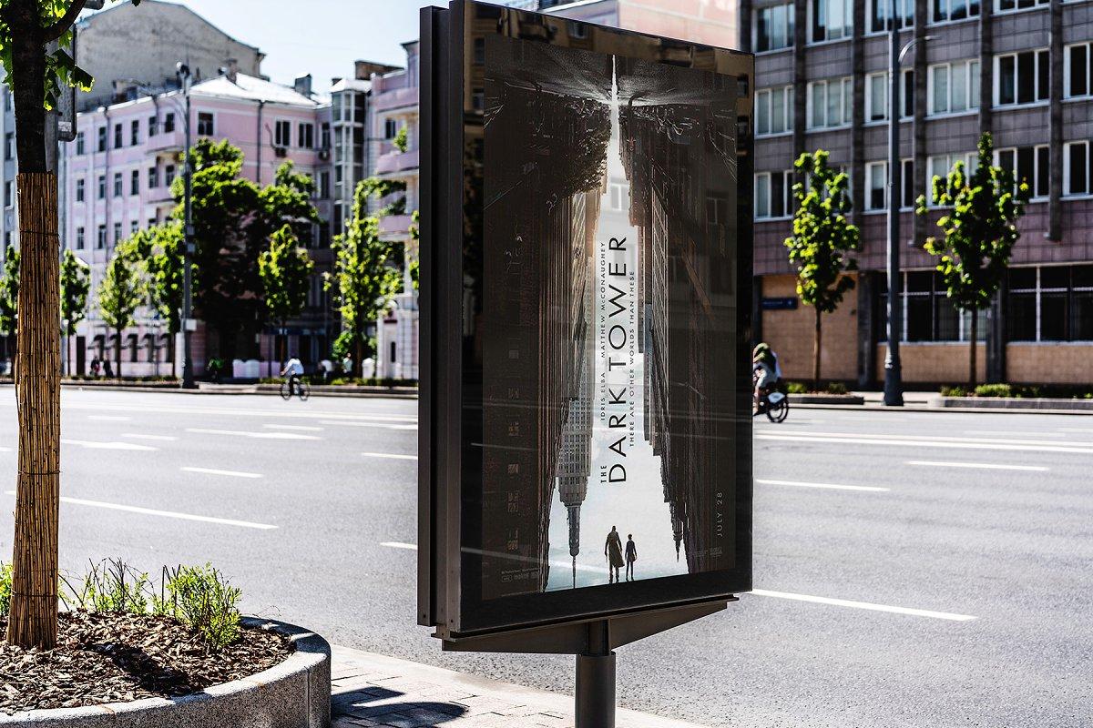 城市户外广告牌海报设计效果图样机模板素材 Billboards Urban Mockup插图(4)
