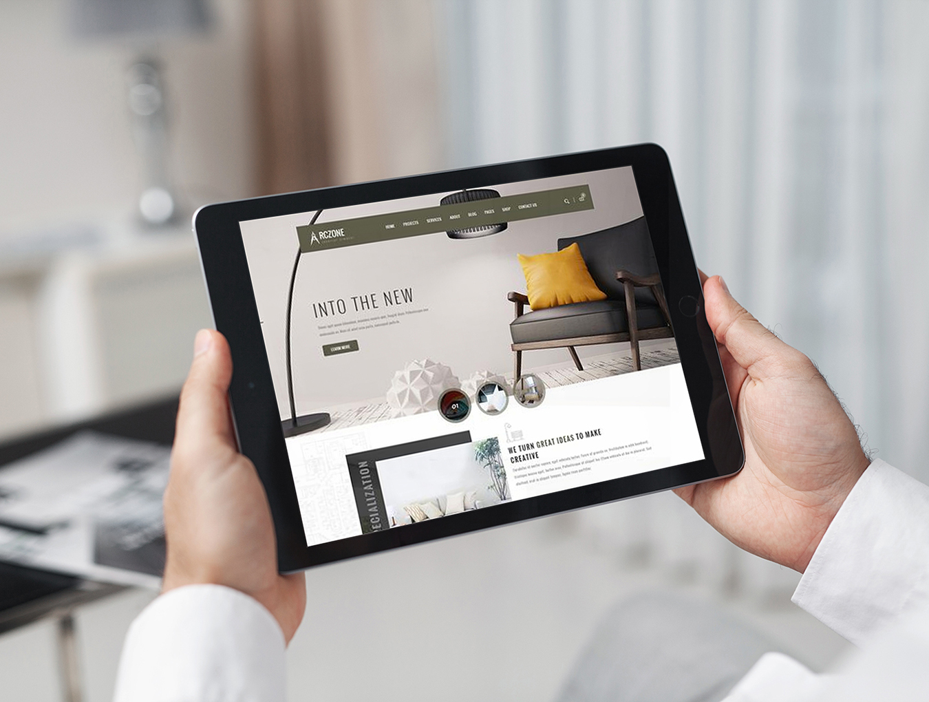 12个响应式网页设计预览iPad平板电脑样机模板 12 New iPad Responsive插图(5)