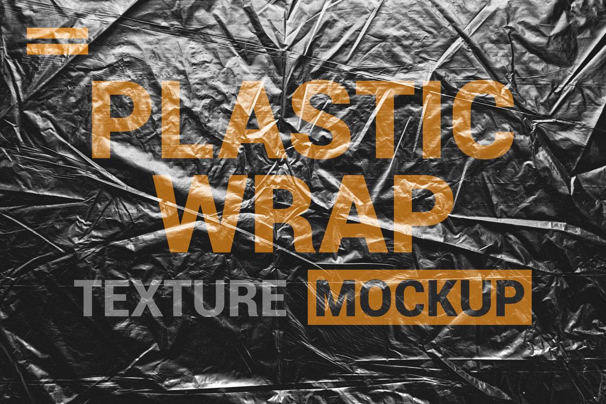 9款透明塑料薄膜展示样机模板素材 Stretch Plastic Wrap Film Mockup插图(1)
