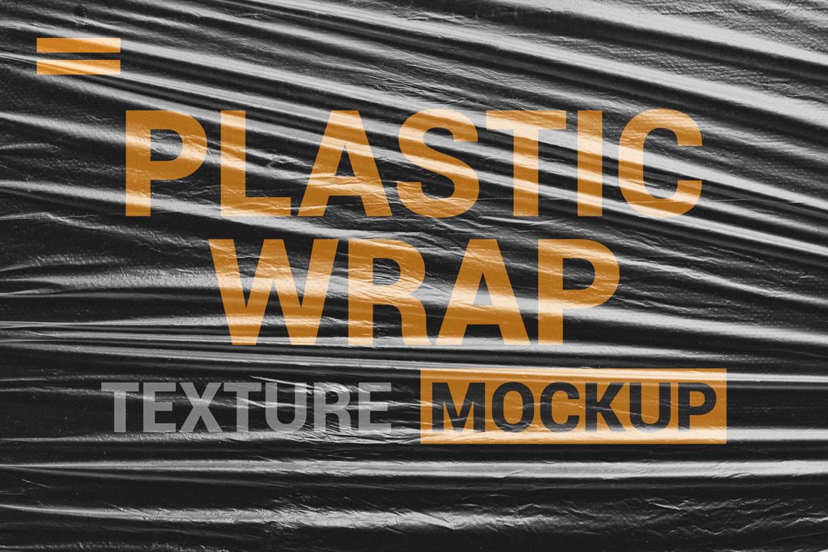 9款透明塑料薄膜展示样机模板素材 Stretch Plastic Wrap Film Mockup插图(8)