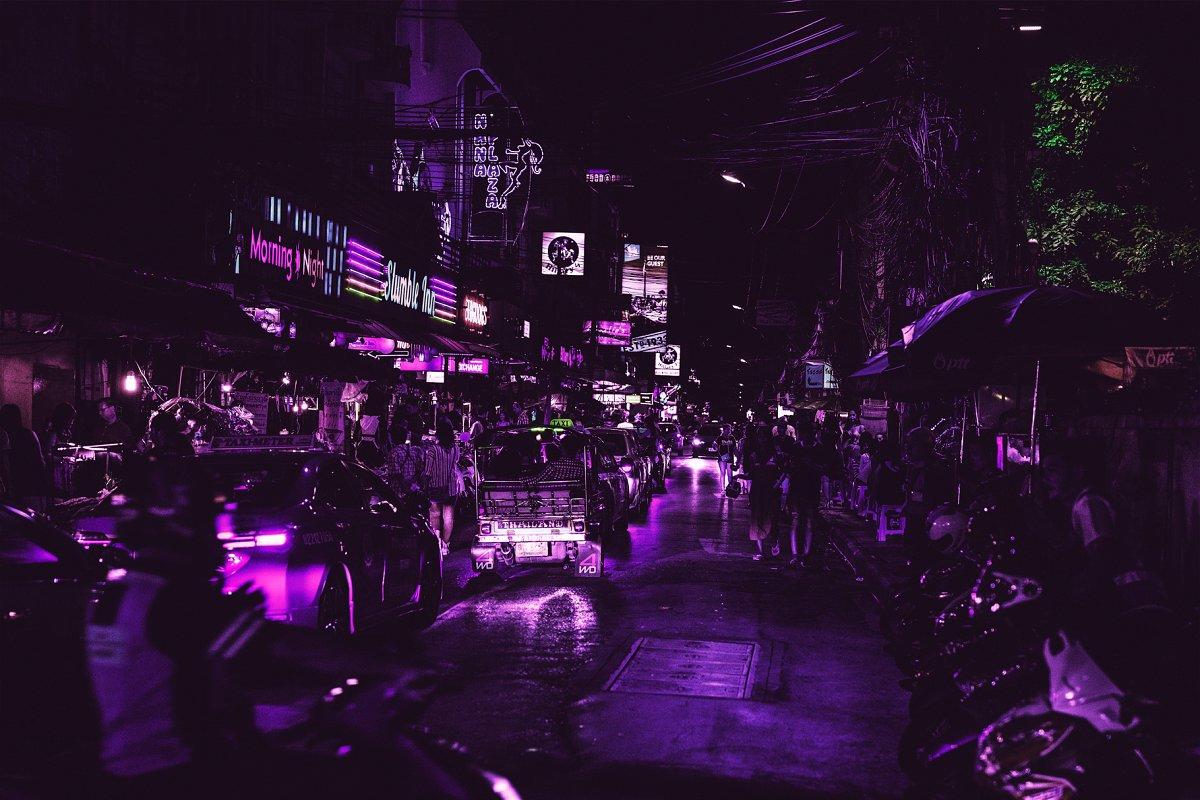 赛博朋克风格照片后期处理效果PS动作 Cyberpunk | Photoshop Effects插图(7)