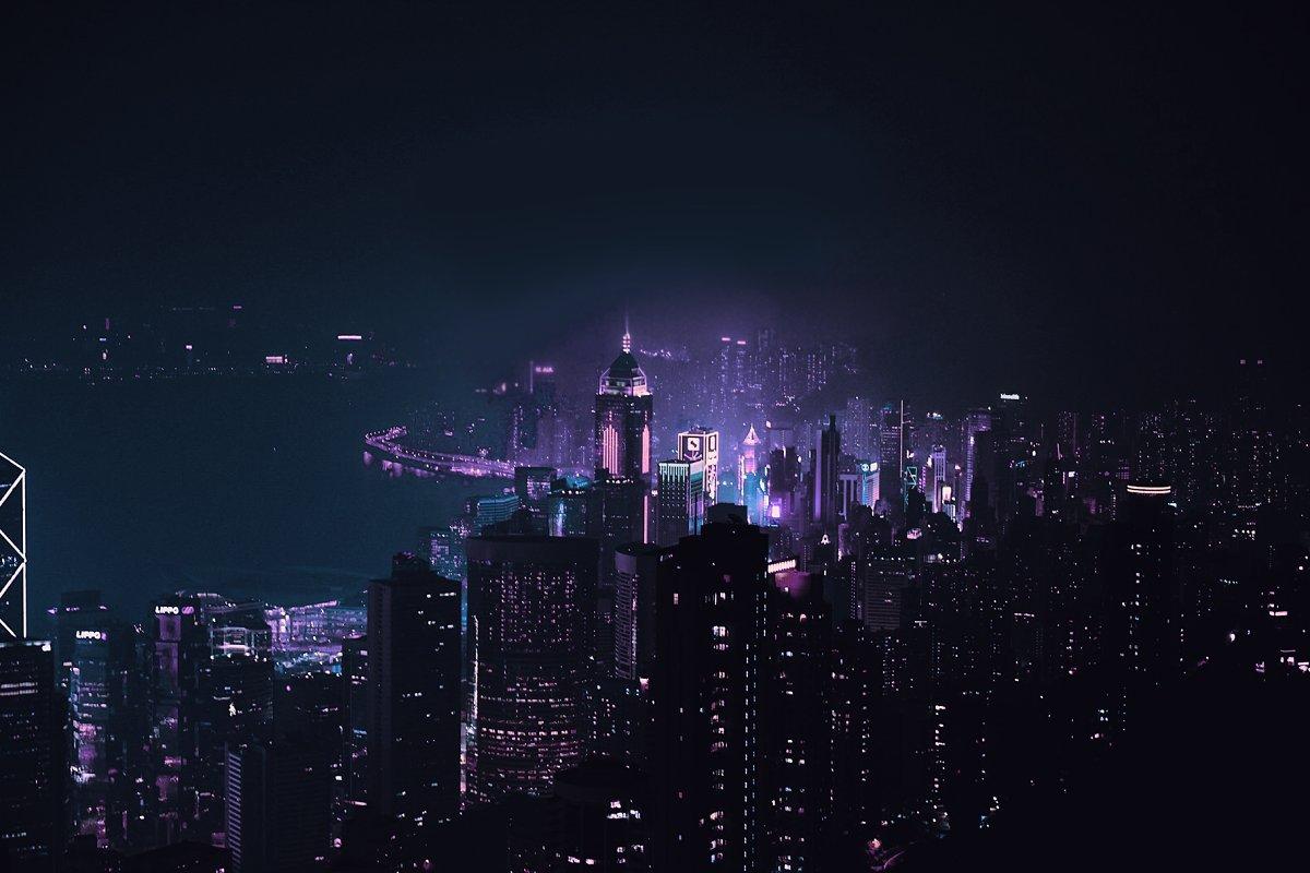 赛博朋克风格照片后期处理效果PS动作 Cyberpunk | Photoshop Effects插图(8)