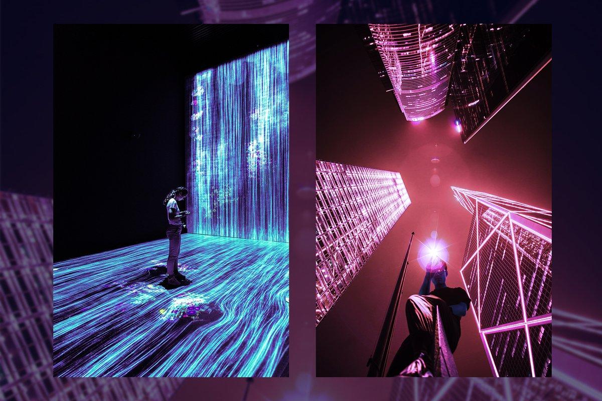 赛博朋克风格照片后期处理效果PS动作 Cyberpunk | Photoshop Effects插图(10)