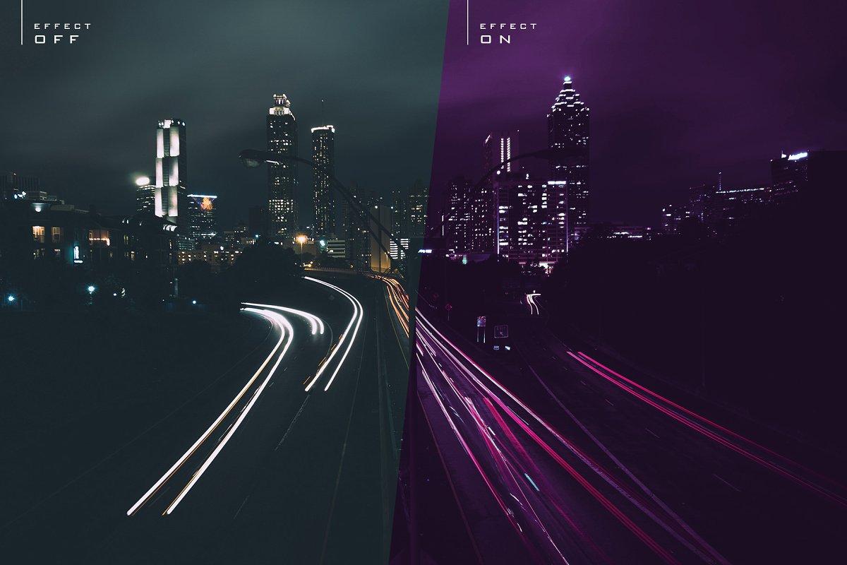 赛博朋克风格照片后期处理效果PS动作 Cyberpunk | Photoshop Effects插图(12)