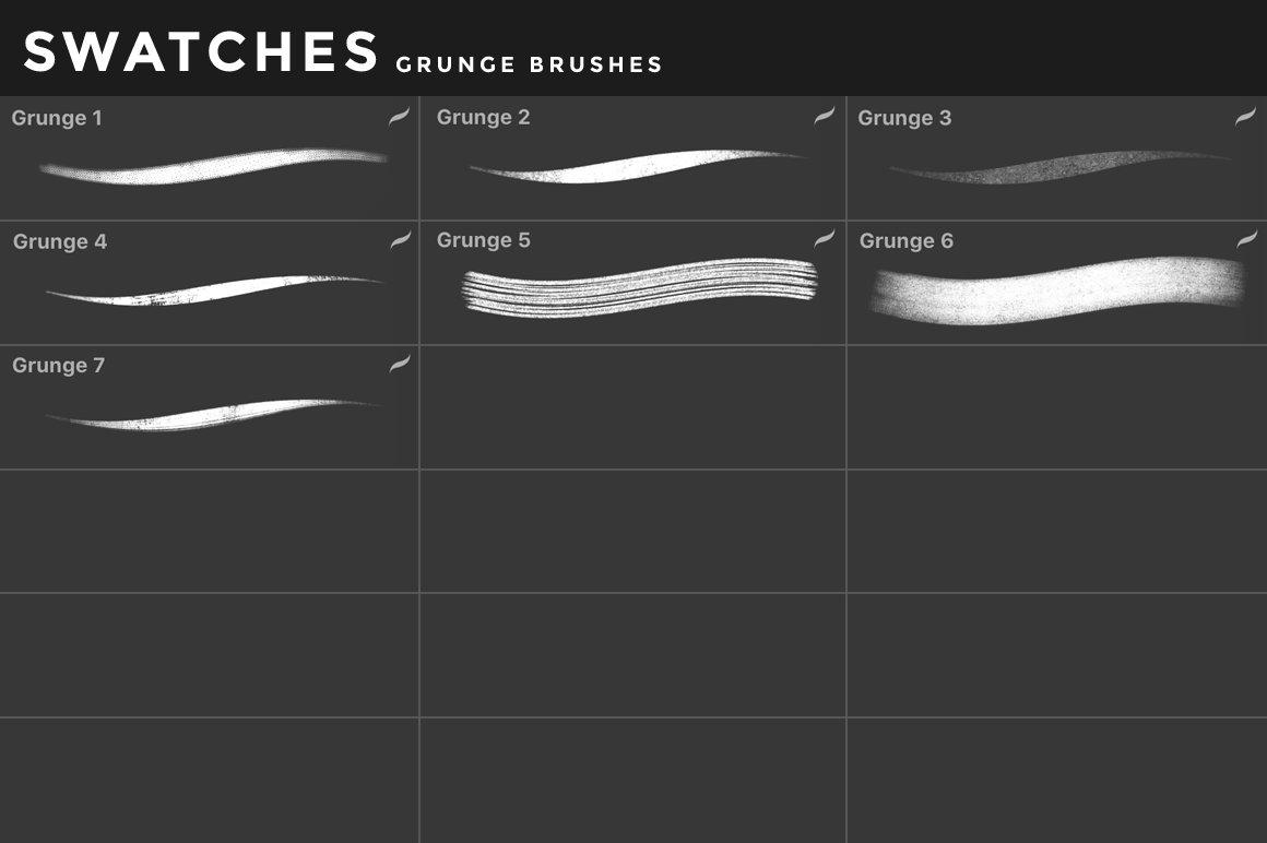 [淘宝购买] 400多款绘画画笔iPad Procreate笔刷套装 Procreate Brushes Bundle插图(19)
