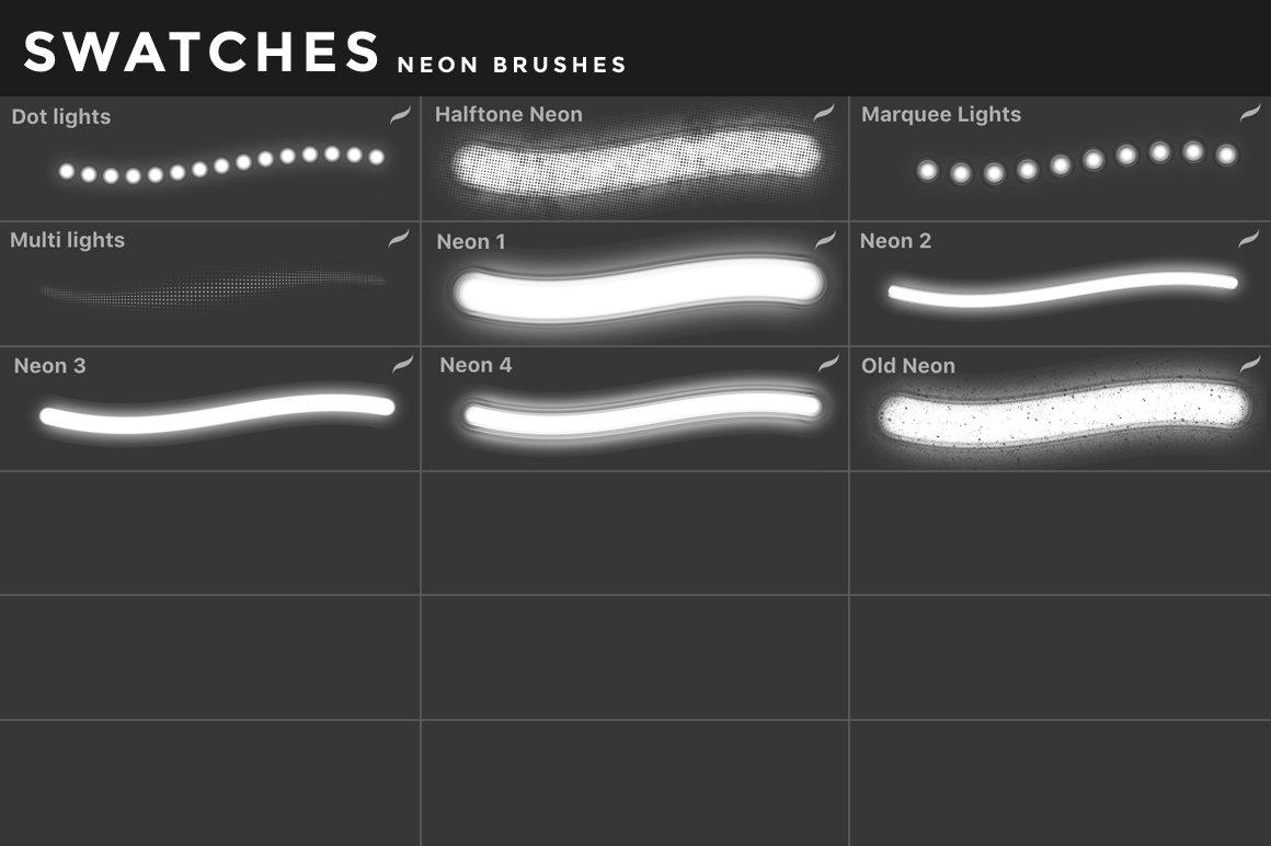 [淘宝购买] 400多款绘画画笔iPad Procreate笔刷套装 Procreate Brushes Bundle插图(41)
