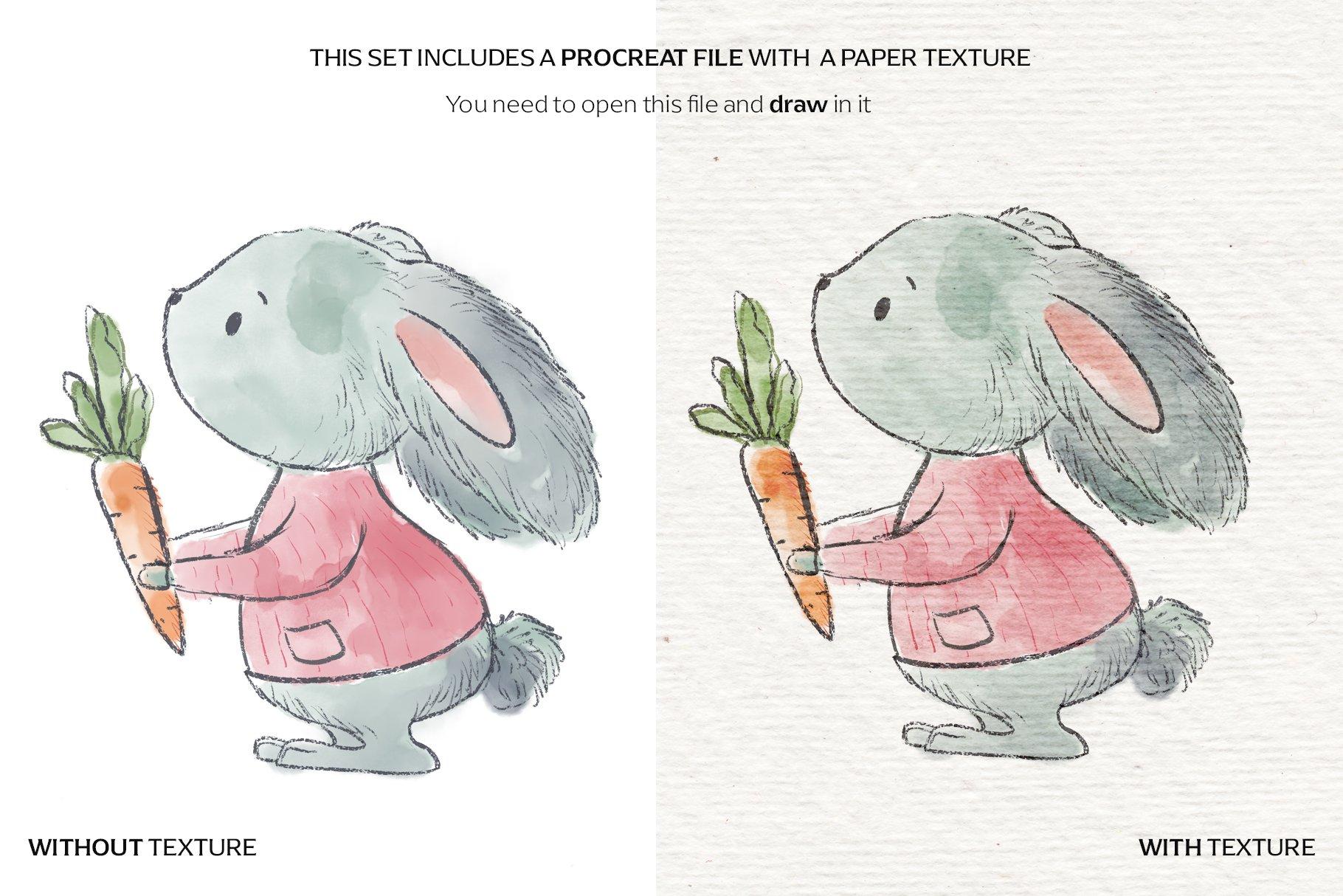 14款水彩铅笔Procreate笔刷包 Watercolor & Pencil Procreate brushes插图(5)