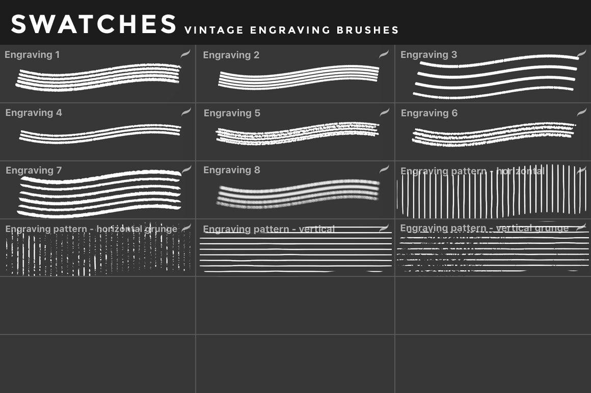 [淘宝购买] 400多款绘画画笔iPad Procreate笔刷套装 Procreate Brushes Bundle插图(7)