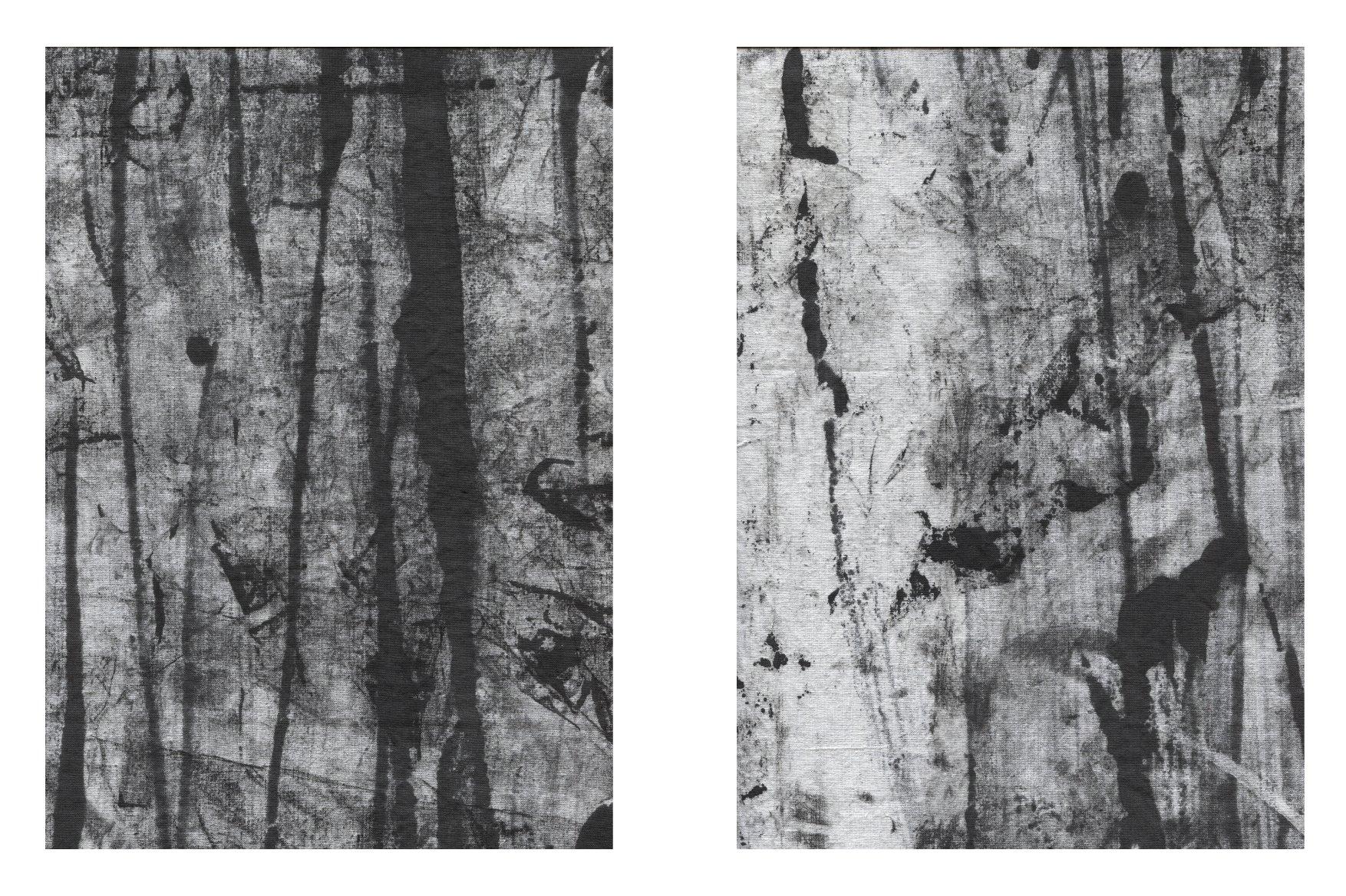 156款复古做旧折痕磨损褶皱纸张背景纹理素材合集 The Grunge Texture Bundle Vol. 1插图(3)